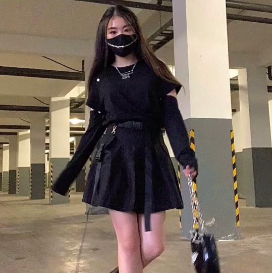 Walk towards camera
